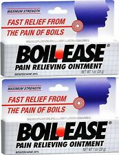 Boil-Ease Ointment Maximum Strength 1 oz ( 2 pack )