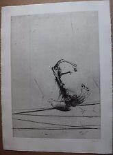 Gravure etching signée num. DADO Suite Haendel surréalisme surrealism 1990 pl.5*