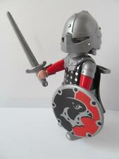 Playmobil Castle figure: Falcon Knight/Soldier with cape, sword & shield NEW