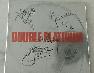 KISS  DOUBLE Platinum Record Album Autographed Signed  Ace Peter Paul Gene
