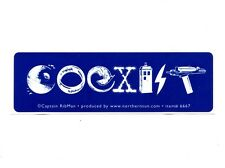 MS243 Sci-Fi Coexist Mini Bumper Magnet // Star Wars, Dr Who, Star Trek, X Files