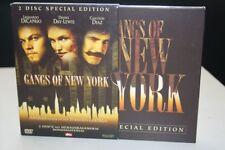 GANGS OF NEW YORK Amerika wurde in den Strassen geboren 2xDVD FSK 16 Pappschuber