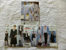 Bundle of Vintage Vogue Dress Making Sewing Patterns 1825 2119 1727 - Tamotsu