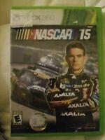 NASCAR 15 XBOX 360 (No Manual)