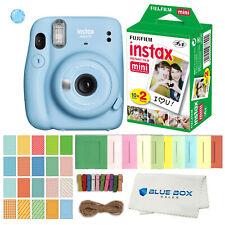 Fujifilm Instax Mini 11 Instant Film Camera (Sky Blue)Film and Accessories