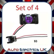 4 X Injector Wiring Harness Plug For Mercedes-Benz, Hyundai, 2 Pin 03P973702