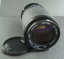 Vivitar 70-210mm 1:4.5-5.6 Lens - Pentax PK Mount
