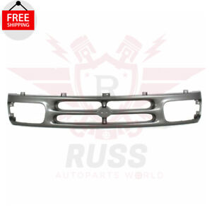 For 1994-1997 MAZDA B2300 B3000 New Front Grill Grille Assembly Silver MA1200144