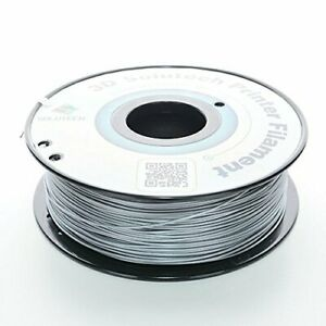 3D Solutech New in Box 1.75mm 2.2lbs PLA Printer Filament Silver Metal 100% USA