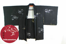 Kimono Haori Japonais MADE IN JAPAN GENUINE AUTHENTIQUE  NEUF NEW SOIE SILK