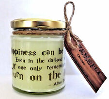 Dumbledore/Harry potter Quote design, Scented Jar Candle, gift, Pagan, Wicca