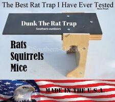 Original Dunk The Rat Trap - Rat & Squirrel Barn Trap - Auto Reset - USA MADE