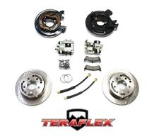 TeraFlex Rear Disc Brake Conversion Kit w/ Rotors for 87-90 Jeep YJ & 84-88 XJ