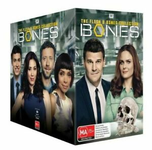 BONES COMPLETE COLLECTION SERIES 1-12 DVD BOXSET 66 DISCS R4 NEW & SEALED