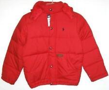 Ralph Lauren Boys Red Down Puffy Jacket (3/3T NWOT