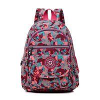 Female Backpack Women School Backpack Teenage Girls Waterproof Nylon Travel Bags