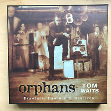 TOM WAITS ORPHANS - BRAWLERS,BAWLERS AND BASTARDS (BOX) LP 2009 7 X LP BOX SET W