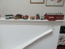 HO Scale , Railroad Related Structures ,Lot of 7 ,Lighted Freight Station & More