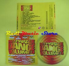 CD HITPARADE DANCE VOLUME 4 compilation PREZIOSO ZANZIBAR CHAB *no lp mc (C12)