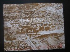 THE JEWISH QUARTER IN OLD CITY OF JERUSALEM, A VINTAGE  MAP,  1977. cs2069