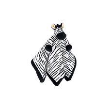 4011 Teddykompaniet Zebra Comfort Babies Plush Comforter Blanket Delivery