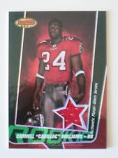 CARNELL WILLIAMS Bowman's Best 2005 ROOKIE Jersey Card #63/599 TB BUCCANEERS