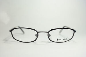 Brendel mod. 4644 col. 7 49 19 135 NOIR BLANC ovale monture lunettes NEUF