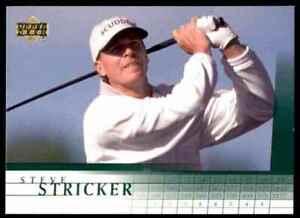 2001 Upper Deck Steve Stricker RC #34 2268