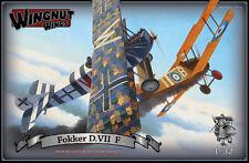OOP Wingnut Wings 1/32 Fokker D.VII F   High Quality Scale Model   Kitset #32031