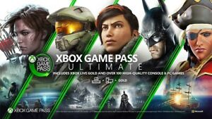 XBOX GAME PASS ULTIMATE 12 MONTHS +EA PLAY +LiveGold+PC