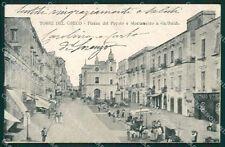 Napoli Torre del Greco Garibaldi cartolina XB0660