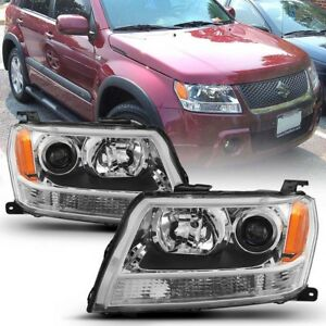For 06-13 Suzuki Grand Vitara Factory Style Projector Headlight Replacement Lamp