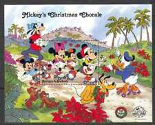 Antigua 1988 Disney/Christmas/Mickey/Music/Cartoons/Animation/ 1v m/s (n22286)