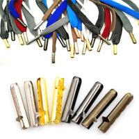 10pcs Metal DIY Shoelaces Repair Shoe Lace Tips Replacement End Shoelaces CrafJB