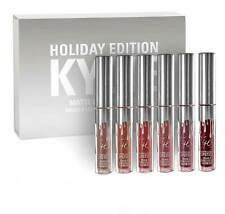 Kylie Jenner Holiday Edition Matte Liquid Lipstick Set 6 Pcs Gift Set- Free Ship