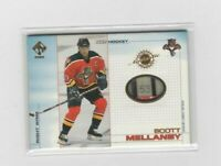 """2000-01 PRIVATE STOCK SCOTT MELLANBY GAME USED STICK """"53"""" CARD #53 PANTHERS"""