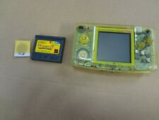 SNK NEOGEO NEO GEO POCKET Color Crystal Yellow Console Tested Work