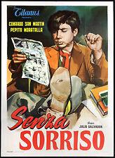CINEMA-manifesto SENZA SORRISO san martin, moratalla; SALVADOR