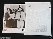 SINATRA/BING CROSBY 'GUYS & DOLLS' 1992 PRESS KIT--PHOTO