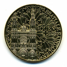 76 ROUEN Abbatiale Saint-Ouen, 2021, Monnaie de Paris