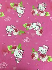 Disney Hello Kitty! Chat Imprimé 100% Coton Craft Tissu Matériau Par Mètre