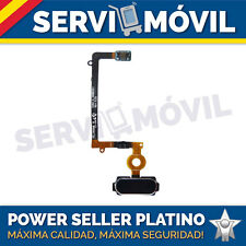 Flex Cable Boton Home Menu para Samsung S6 Edge SM-G925F button Azul Botón