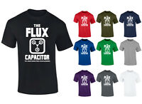 Mens Flux Capacitor Back To The Future Retro T-shirt NEW S-XXL