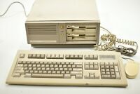 Commodore PC10-III PC10C Mouse Keyboard Computer Vintage Powers On Not Tested