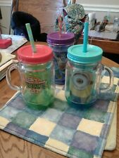 SET OF THREE ZAK DESIGN  INSULATED CUPS