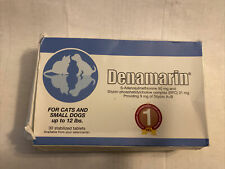 New listing Denamarin For Cats And Small Dogs Up To 12 lbs 90 mg 30 Stabilized Tablets