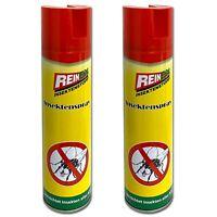 2er Set Insektenschutz 400ml Insektenbekämpfung Mücken Abwehr Insektenspray