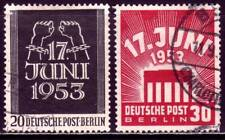 BERLIN GERMANY Mi. #110-111 scarce used stamp set! CV $48.00