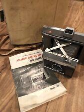 1960s Vintage Polaroid Model J66 Eye Land Camera Original Case Instructions
