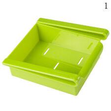 Slide Küche Kühlschrank Gefrierschrank Space Saver Organizer Storage Shelf Holde